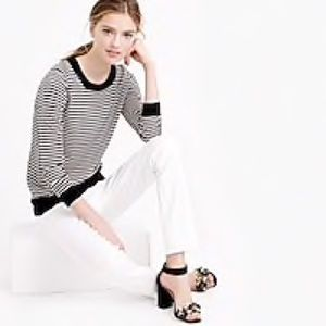 J. Crew Tippi Sweater In Stripe With Merino Wool